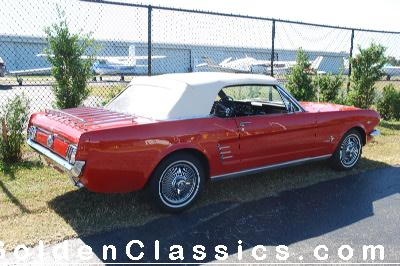 1966  FORD  Mustang Convertible CLICK HERE FOR PHOTOS in a NEW WINDOW