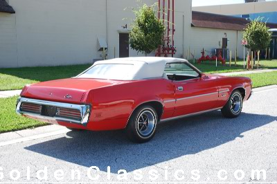 1972 LINCOLN-MERCURY Cougar XR-7  Convertible