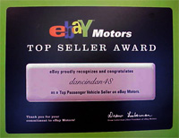 eBay Top Seller Award Winner